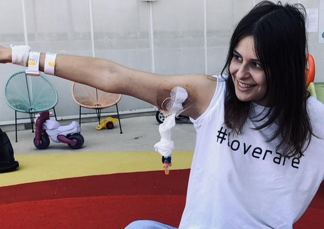 Noah Higón, joven valenciana con siete enfermedades raras
