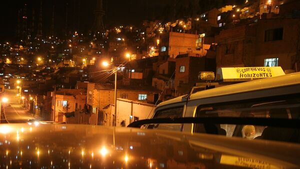 Una vista panorámica de la ciudad de El Alto, Bolivia - Sputnik Mundo