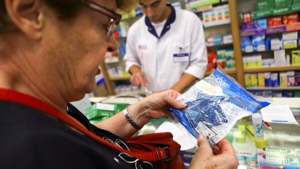 Una farmacia de Buenos Aires, Argentina - Sputnik Mundo