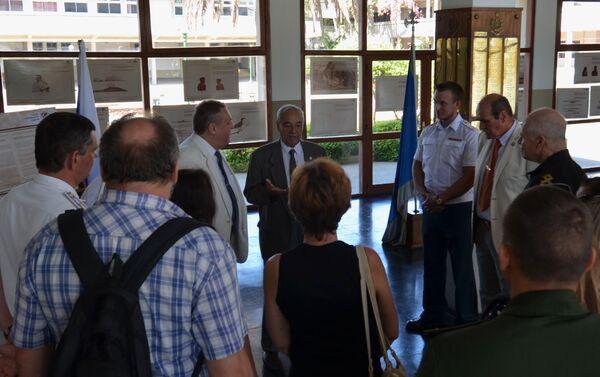 Exposición dedicada al 200 del descubrimiento de la Antártida en la Escuela Naval de Montevideo - Sputnik Mundo