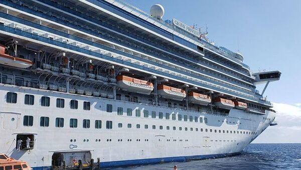 El crucero Grand Princess - Sputnik Mundo