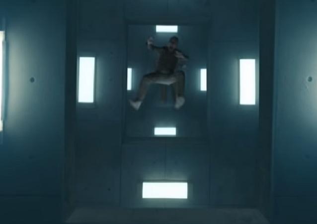 'El hoyo', captura de pantalla