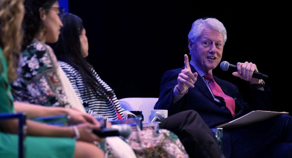 Bill Clinton, ex presidente de EEUU