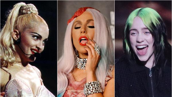 Madonna, Lady Gaga y Billie Eilish - Sputnik Mundo