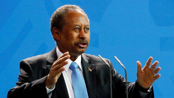 El primer ministro de Sudán, Abdalla Hamdok - Sputnik Mundo