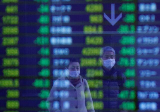 Economía en tiempos de coronavirus (imagen referencial)