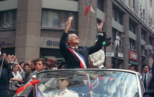 Patricio Aylwin, expresidente de Chile - Sputnik Mundo