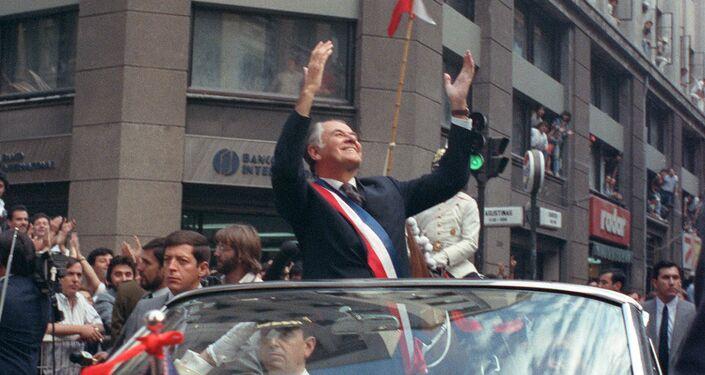 Patricio Aylwin, expresidente de Chile