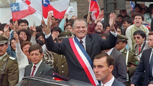 La inauguración de Patricio Aylwin, expresidente de Chile - Sputnik Mundo