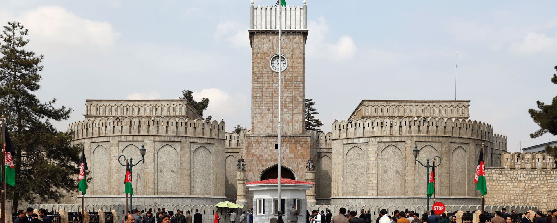 El Palacio Presidencial en Kabul, capital de Afganistán - Sputnik Mundo, 1920, 28.08.2021