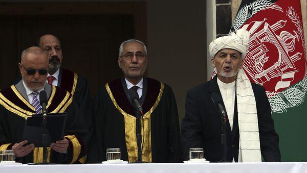 Juramento de Ashraf Ghani como presidente de Afganistán - Sputnik Mundo