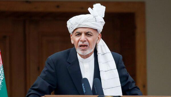 Ashraf Ghani, en presidente de Afganistán - Sputnik Mundo