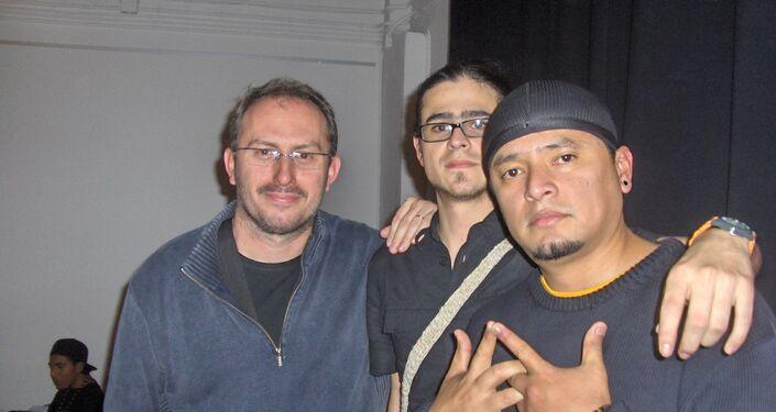 César Andrade, miembro de la banda Latin King
