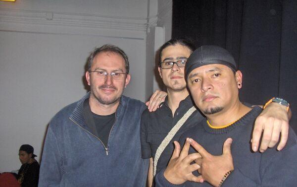César Andrade, miembro de la banda Latin King. - Sputnik Mundo