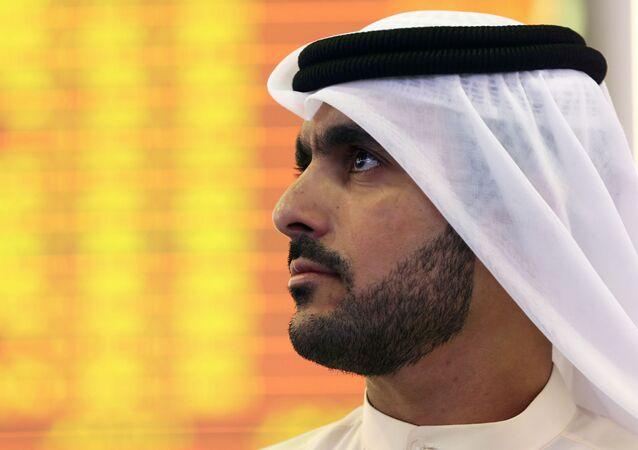 Inversor en la bolsa de Dubai
