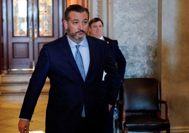 El senador y excandidato presidencial Ted Cruz