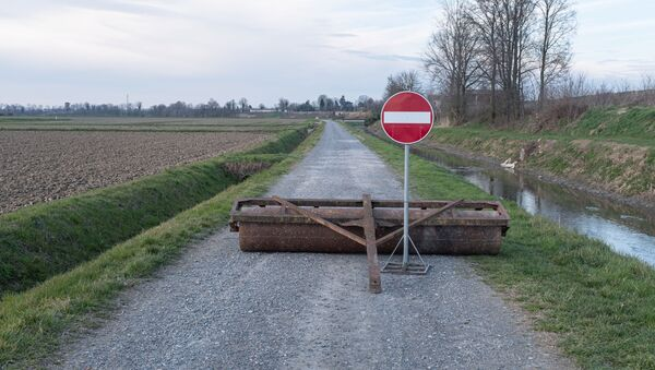Restricción de los desplazamientos en Italia - Sputnik Mundo