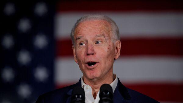 Joe Biden, exvicepresidente de EEUU - Sputnik Mundo