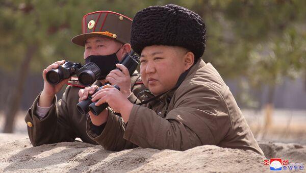 Kim Jong-un, dirigente de Corea del Norte - Sputnik Mundo