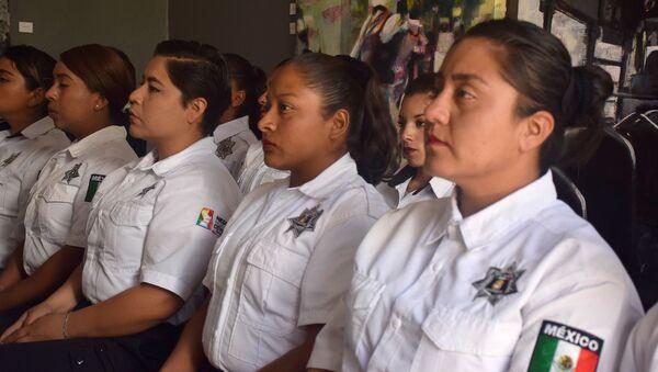 Mujeres policías mexicanas - Sputnik Mundo
