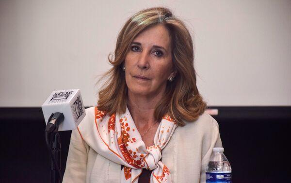 María Elena Morera, presidenta de Causa Común - Sputnik Mundo