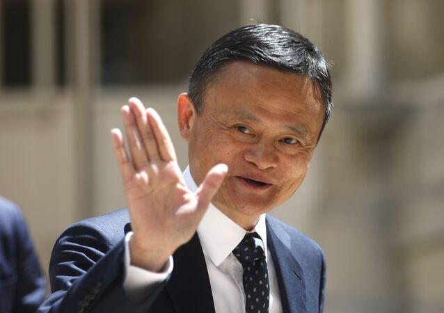 Jack Ma, fundador de la empresa de tecnologías china Alibaba