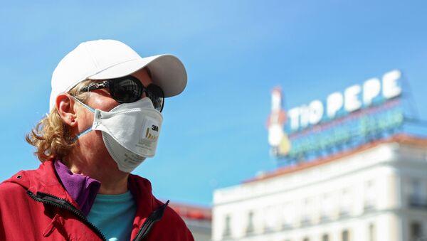 Una turista en Madrid - Sputnik Mundo