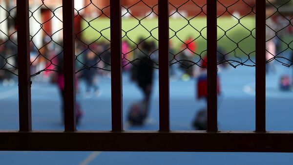 Los estudiantes de un colegio de Madrid - Sputnik Mundo