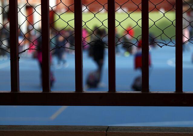 Los estudiantes de un colegio de Madrid