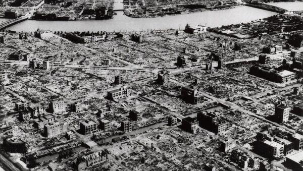 Tokio destruida tras el bombardeo de EEUU, marzo de 1945 - Sputnik Mundo