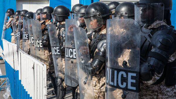 Policía de Haití  - Sputnik Mundo
