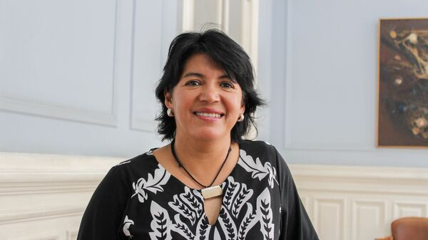 La senadora y exministra de los gobiernos de Ricardo Lagos y Michelle Bachelet Yasna Provoste - Sputnik Mundo