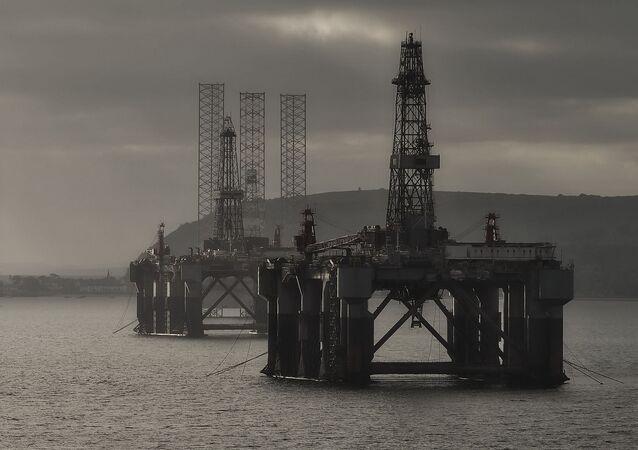 Las plataformas de extracción de petróleo (imagen referencial)
