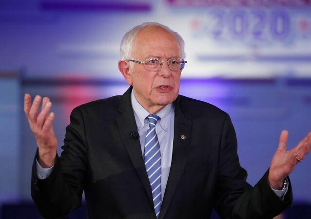 Bernie Sanders, candidato demócrata a la Presidencia de EEUU