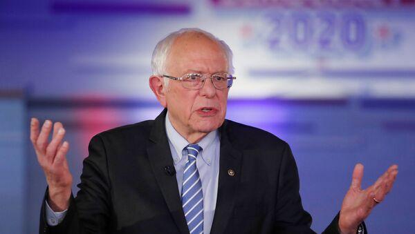 Bernie Sanders, candidato demócrata a la Presidencia de EEUU  - Sputnik Mundo
