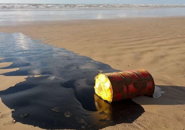 Un barril de petróleo