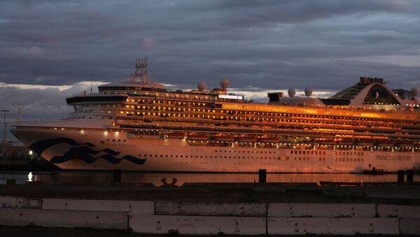 El crucero estadounidense Grand Princess  - Sputnik Mundo