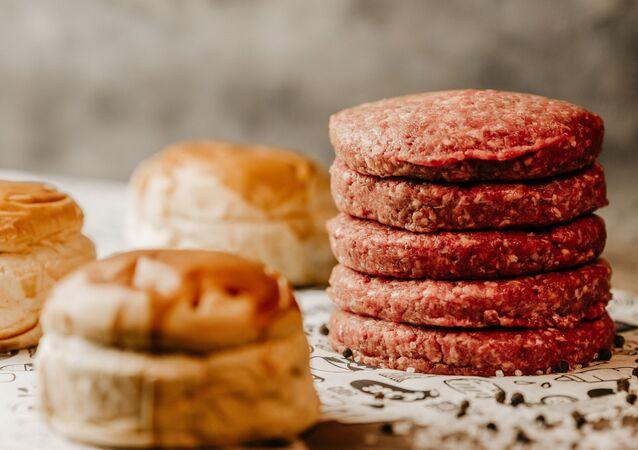Carne para hamburguesas (imagen referencial)