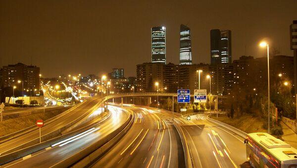 Tráfico en Madrid  - Sputnik Mundo