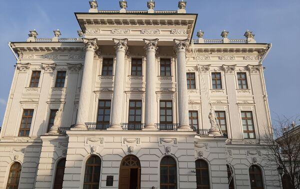 Casa de Pashkov de Biblioteca Estatal de Rusia - Sputnik Mundo