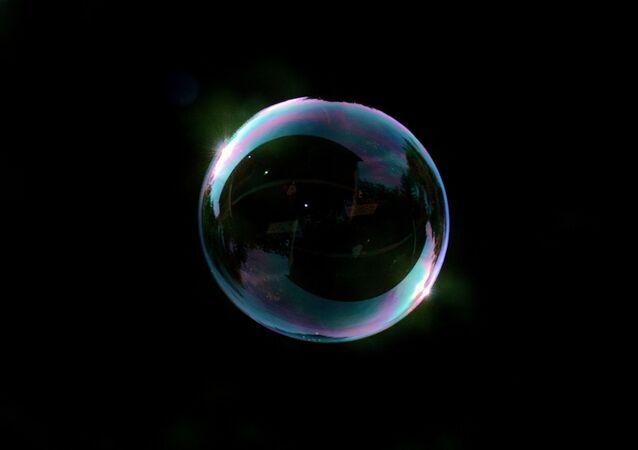 Una burbuja (imagen referencial)