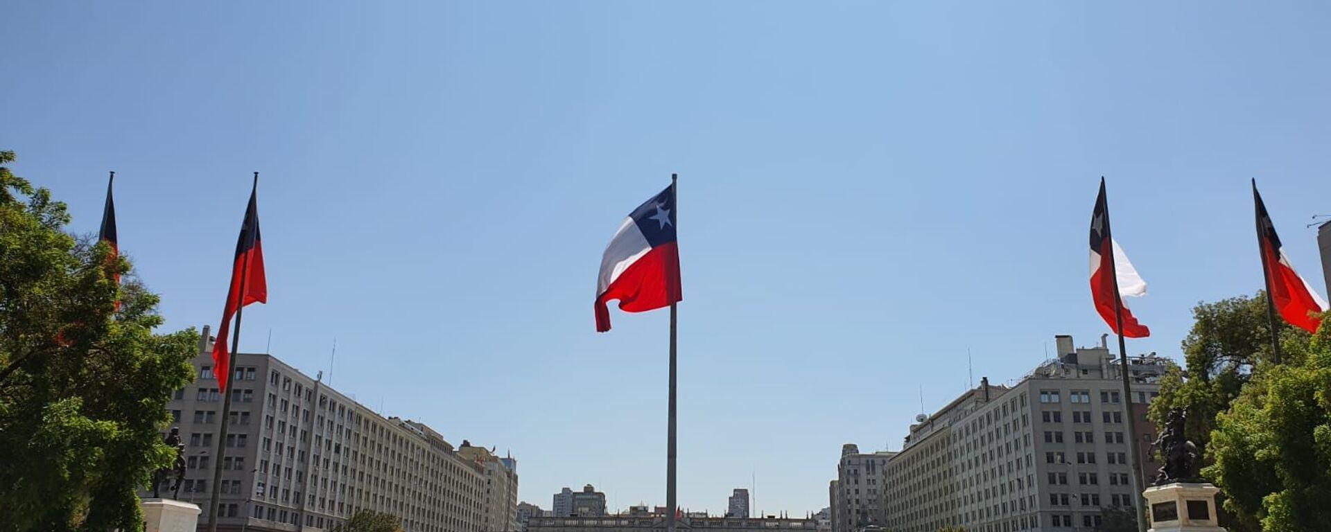 Bandera de Chile - Sputnik Mundo, 1920, 17.07.2021