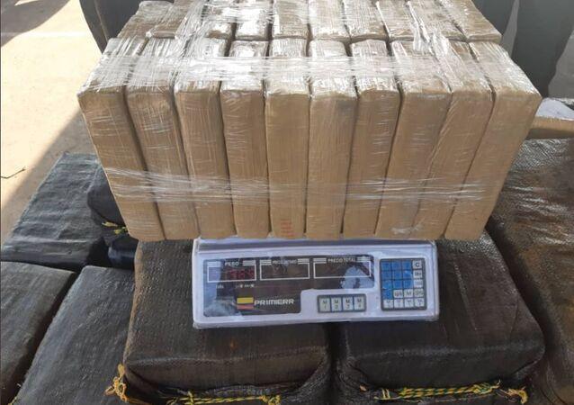 Cocaína, incautada por la Fuerza Armada