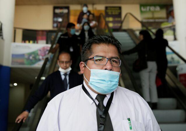 Situación en Bolivia debido al coronavirus