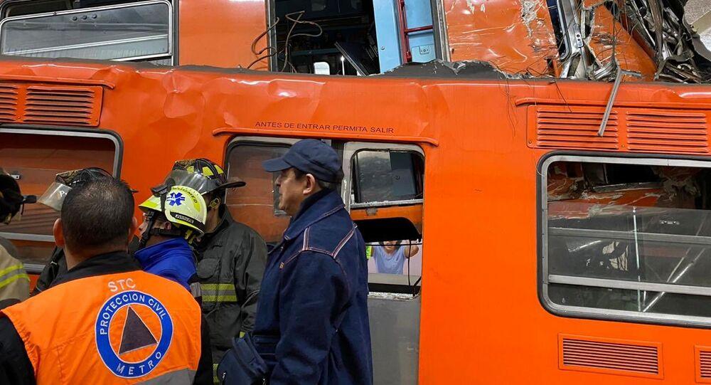 Fiscalía inicia carpeta de investigación tras choque en el Metro Tacubaya