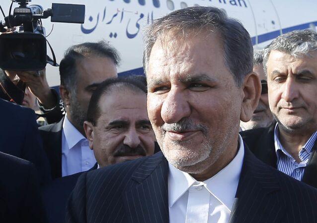 Eshaq Yahanguir, vicepresidente de Irán