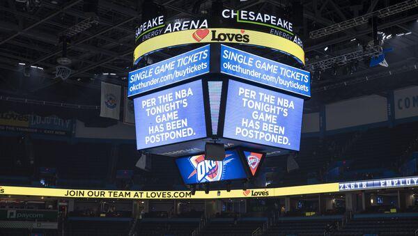 Cancelación del partido entre Utah Jazz y Oklahoma City Thunder - Sputnik Mundo