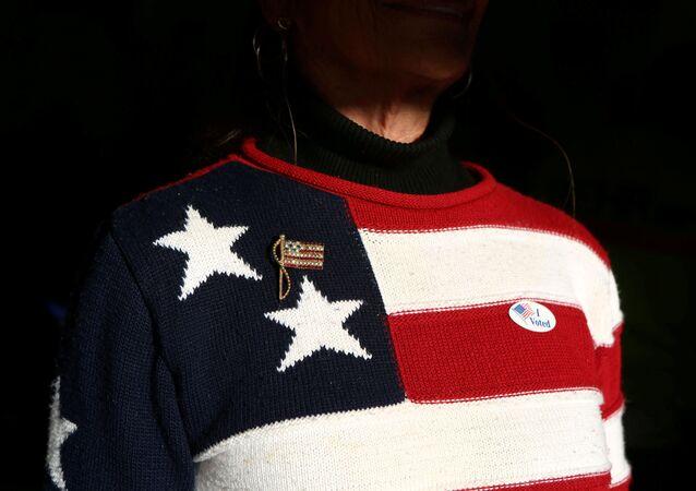 Un jersey con la bandera de EEUU