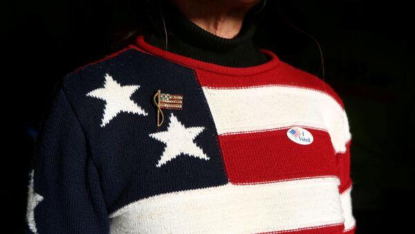 Un jersey con la bandera de EEUU - Sputnik Mundo