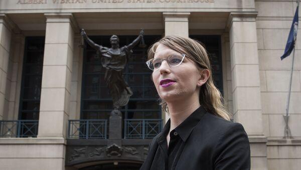 Chelsea Manning, exanalista de inteligencia del Ejército de EEUU - Sputnik Mundo